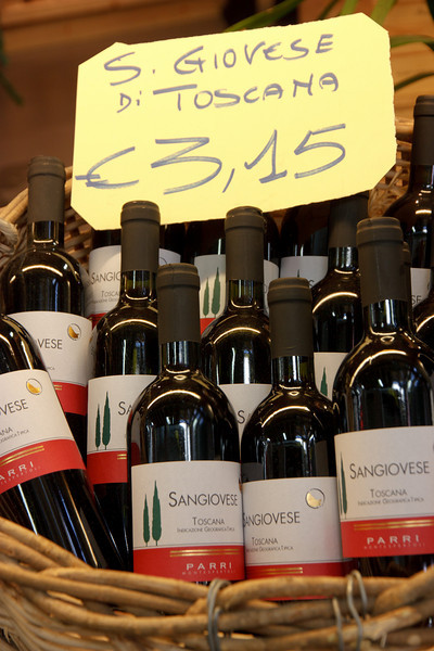 . . . to local wines.