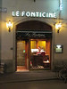 Dinner that night was at the Fonticine, a restaurant recommended by the staff at the hotel, . . .