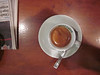 Later we stopped in a bar for our last espresso . . .