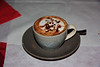 . . . a capuccino and . . .
