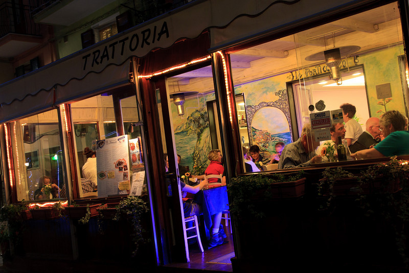 Another Trattoria just up the street.