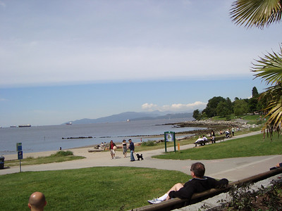 Scenes from English Bay.
