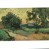 Los Angeles, CA<br /> Los Angeles County Museum of Art<br /> Van Gogh, Landscape at twilight