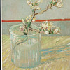 Los Angeles, CA<br /> Los Angeles County Museum of Art<br /> Van Gogh, Sprig of flowering almond in a glass
