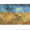 Los Angeles, CA<br /> Los Angeles County Museum of Art<br /> Van Gogh, Wheatfield with crows