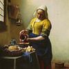 Amsterdam: Vermeer's The kitchen maid, at the Rijksmuseum