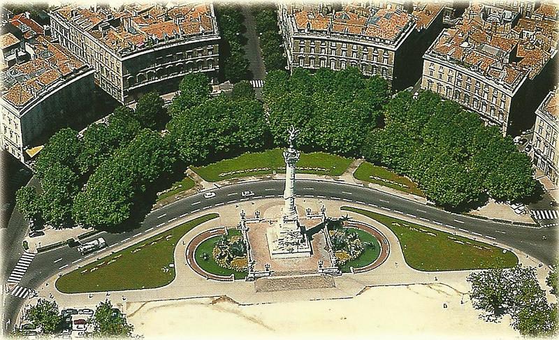 Bordeaux: Le monument des Girondins, Place des Quinconces