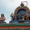 Chennai: detail on gate opposite Sri Kapaleeswarar Temple