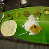 Chennai: banana leaf meal with endless refills of all food