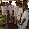 Chennai: restaurant staff ready to come around and serve refills