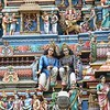 Chennai: detail on gate at Sri Kapaleeswarar Temple