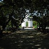 Pondicherry: Government Place, the park across the street from Raj Nivas