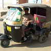Agra: This is what an autorickshaw looks like.