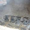 Bhaktupur: kiln at Pottery Square