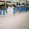 School band in the street
