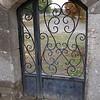 gate to church