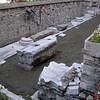 excavation outside entry to Hagia Sophia
