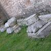 bits and pieces of stone around the Hagia Sophia