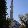 minaret of the Blue Mosque