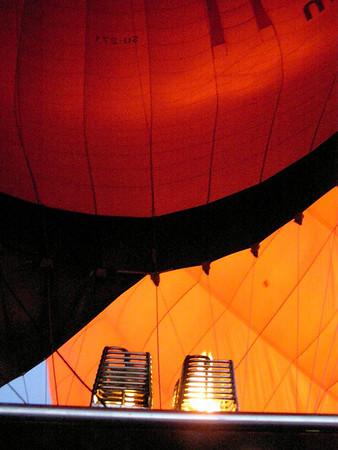Upper Egypt: Hot air balloon over Luxor (2007)