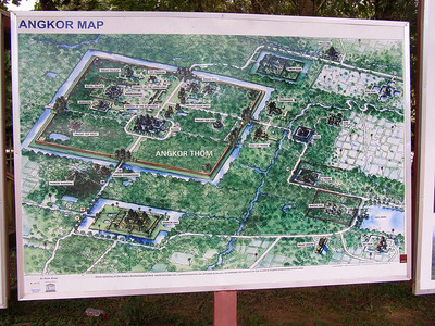 Cambodia: Angkor Wat and surrounding area (2008)