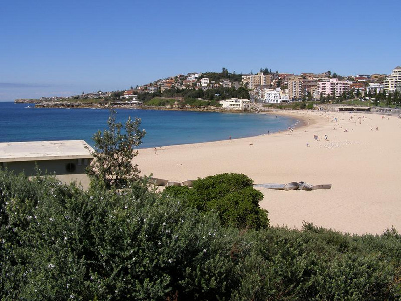 Coogee Beach - seaside walk