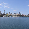 Sydney City skyline from Glebe