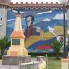 mural to Simon Bolivar