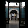 museum through courtyard
