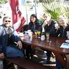 brunch at Gordon's Bay with Dom, Subina, Sasho, and Joy