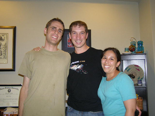 Andrew Medley (2004-2006), Brock Emerson (2004-2006), Brock's girlfriend Janida