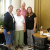 I am with Janine Kossen (2003-2005), her aunt, and her mother
