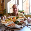 """Ethiopians eat vegetarian meals two days a week. They call it """"fasting food."""" Fortunately for vegetarians, you can get fasting food every day in almost every restaurant."""