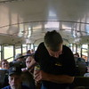 on board the bus to West Hempstead from Glen Cove