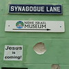 Bridgetown, Synagogue Lane<br /> Jesus is coming (to the synagogue)!