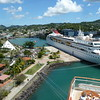Castries from the ship