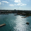 Oranjestad from the ship