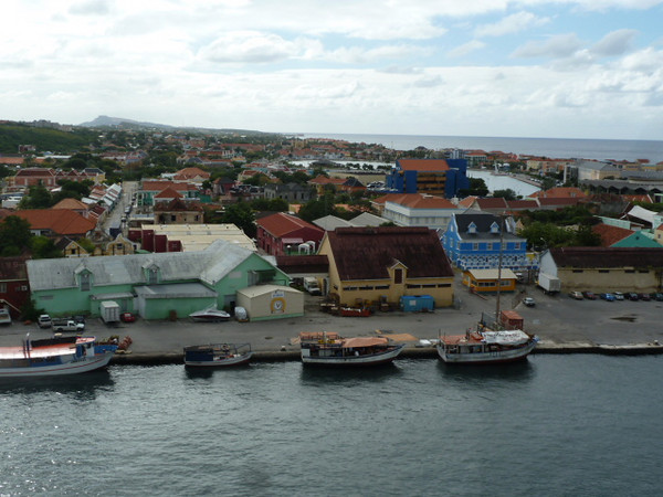 Willemstad from the ship