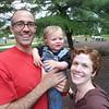 Carl, Ed, Adriane<br /> Prospect Park, Brooklyn