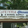 cafeteria and school supplies - interesting combination