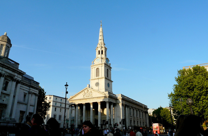 St. Martin in the Fields.