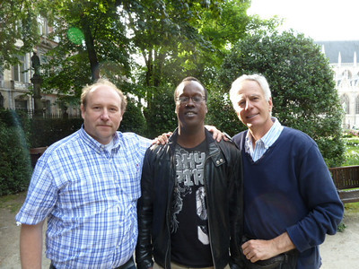 with Daniel and Mamadou
