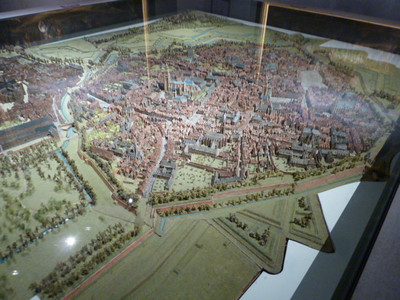 Musée des Beaux Arts  model of the city of Arras