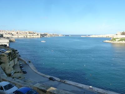 Valletta from Il-Birglu (Vittoriosa)