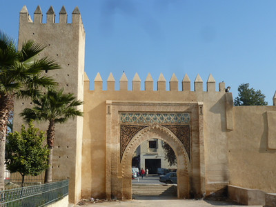 entry gate near Mella (old Jewish quarter)