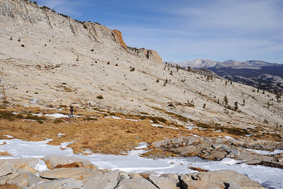 Mt. Hoffmann - Tuolumne Peak, Jan 9