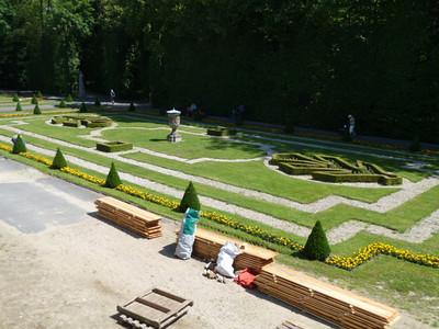 gardens, Palac w Wilanowie