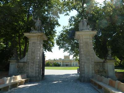 entry to Palac w Wilanowie