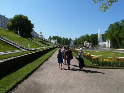 Peterhof, Lower Park