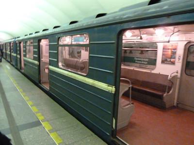 Metro car on line M3